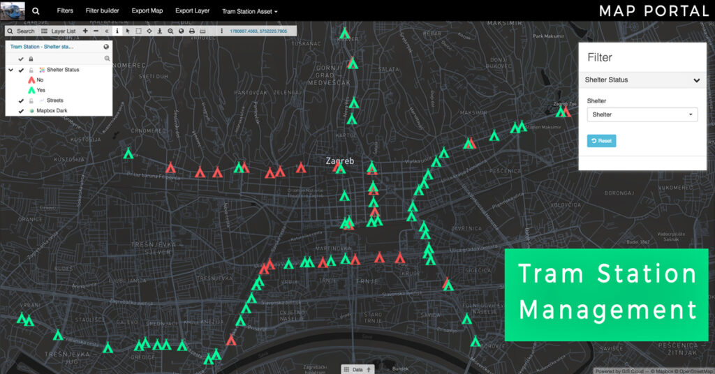 tram-station-management-gis-cloud-software