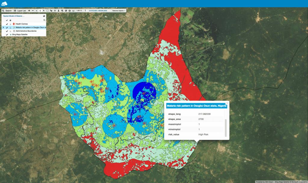 Malaria Risk Map in Nigeria