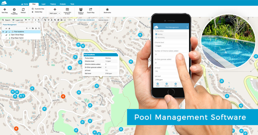 Pool service app