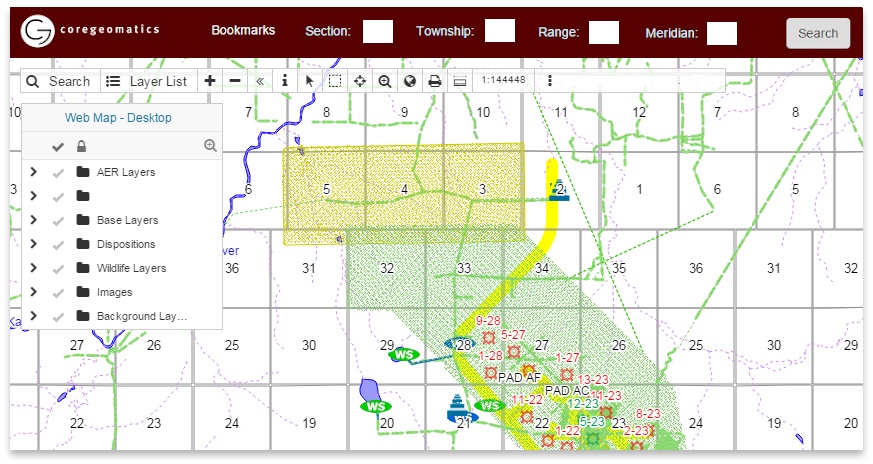 GIS for Oil & Gas industry