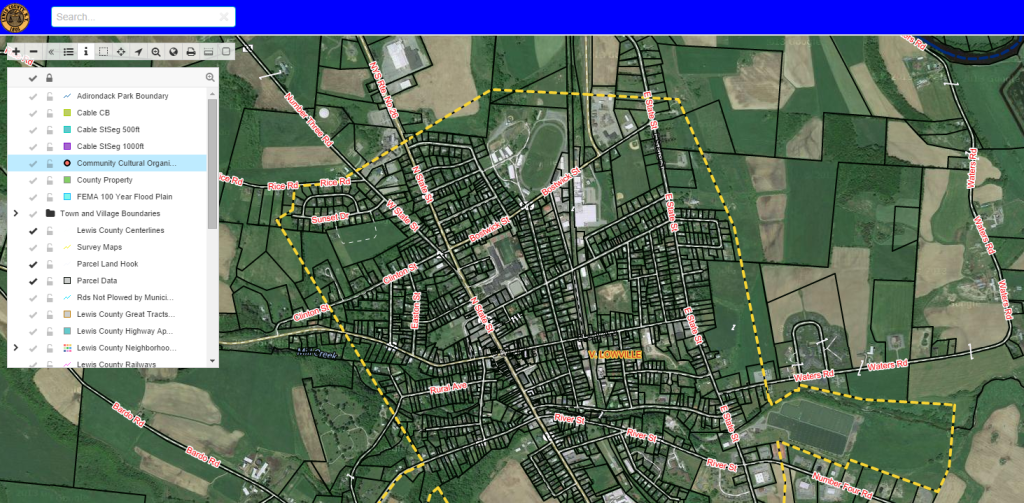 interactive map portal