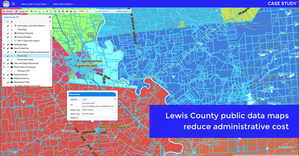 interactive map portal lewis county