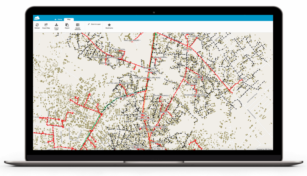 GIS for Electric Utilities - electric utility asset management software