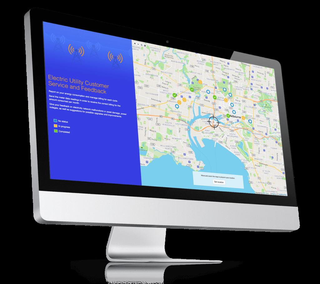 Smart city application