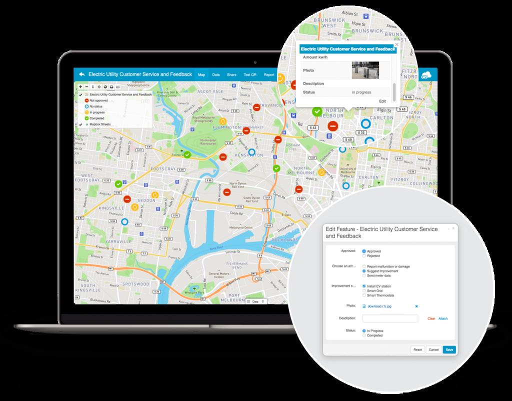 Smart city application - admin