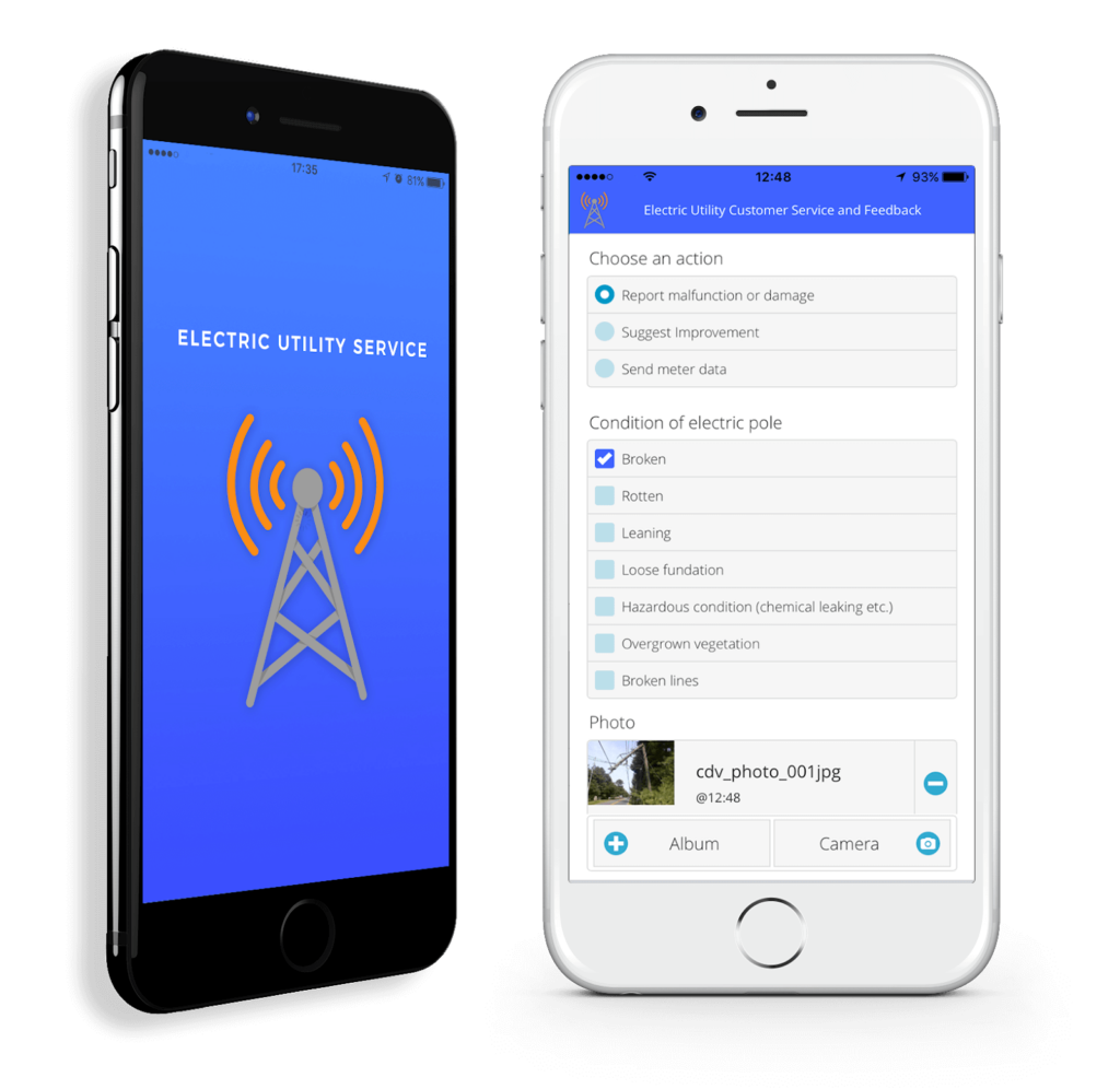 Smart city apps - branded