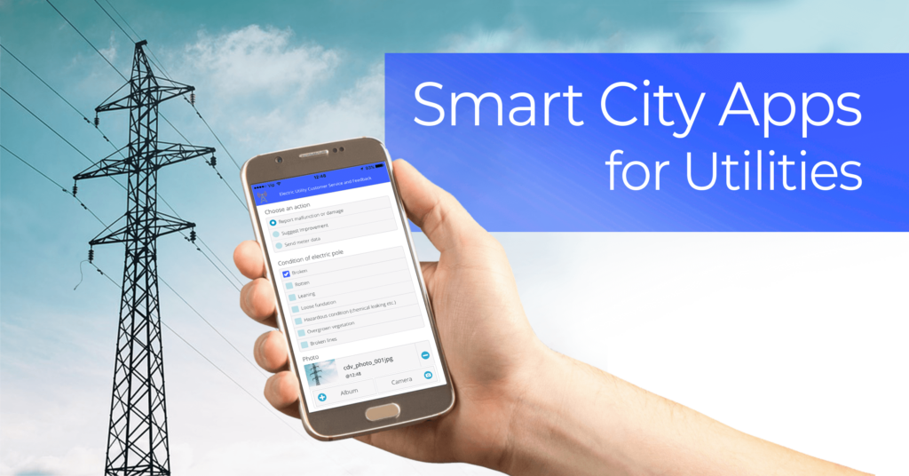 Smart city apps for utilities