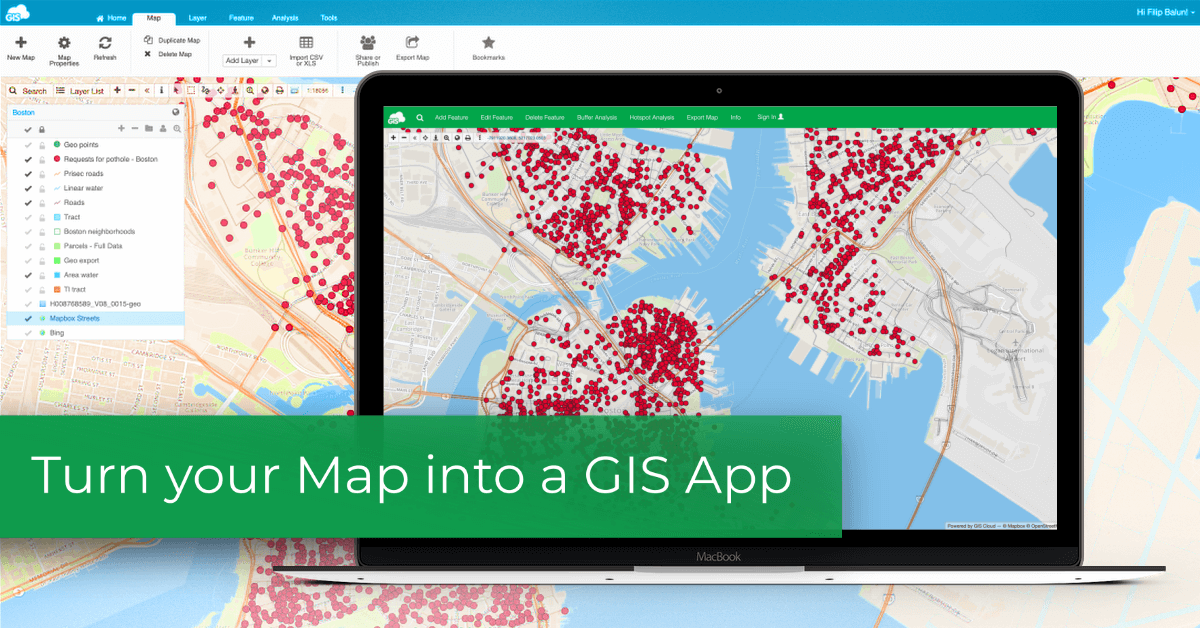 gis app development