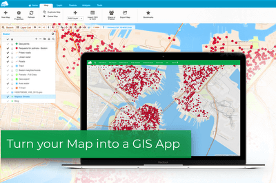 GIS Cloud: Real-time Data Visualization and Collaboration