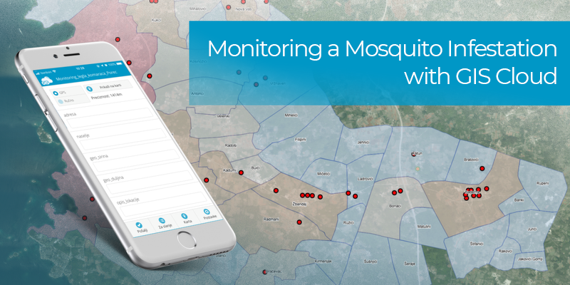 Monitoring a Mosquito Infestation with GIS