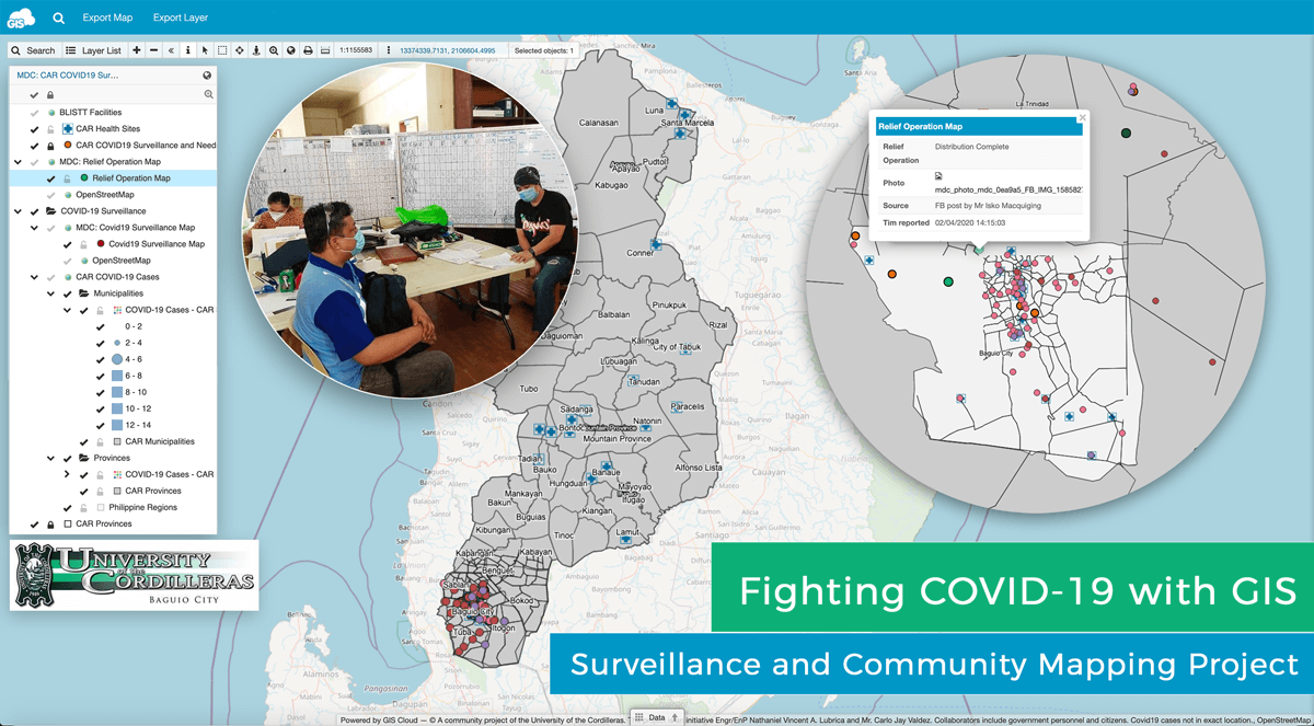 COVID 19 Surveillance and Community Mapping Project Using a Real-time Web GIS Platform in Philippines