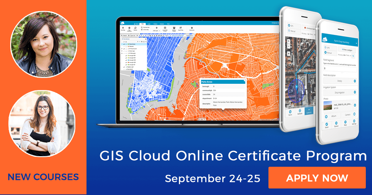 GIS Cloud Online In-Depth Certificate Program – Apply For New Series Of Learning Sessions!