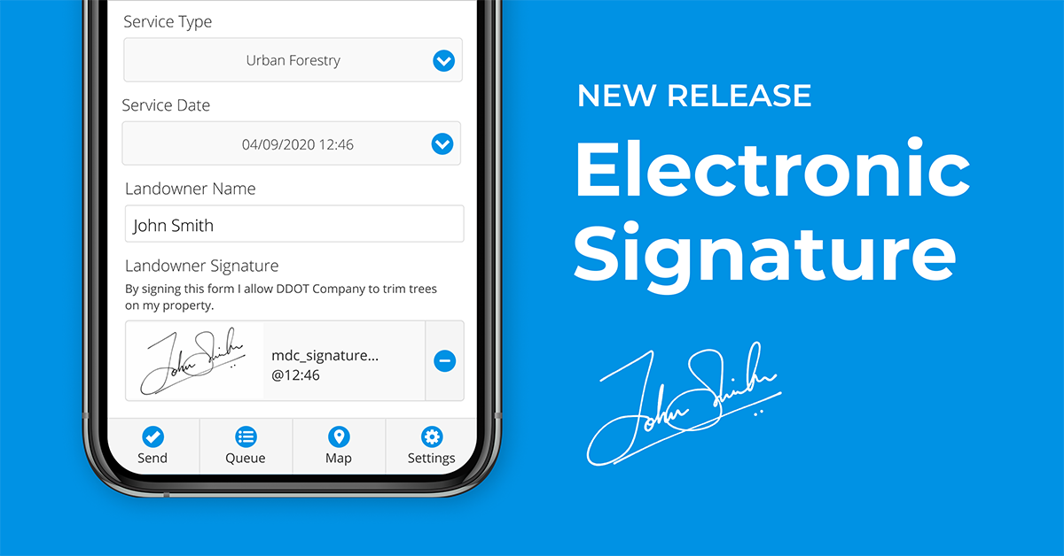 New Release: Add Electronic Signature to Your Digital Forms!