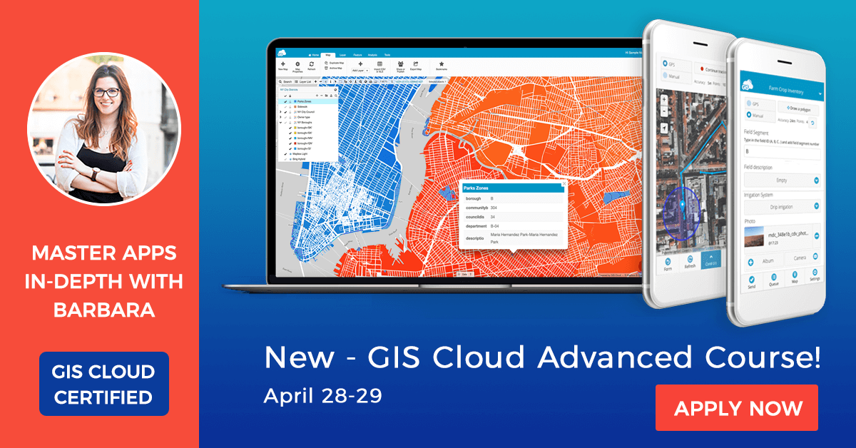 Certified GIS Cloud Advanced Course